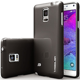 Galaxy Note 4 case, Caseology® [Daybreak Series] [Black] Slim Fit Shock Absorbent Cover [Drop Protection] Samsung Galaxy Note 4 case