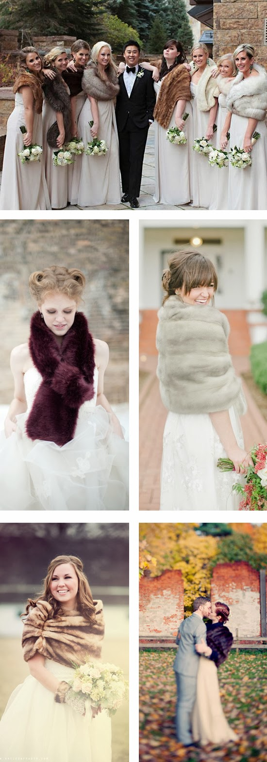 Flaunt Your Wedding Fur