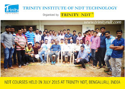 Participants - NDT Level II Held in Bengaluru India