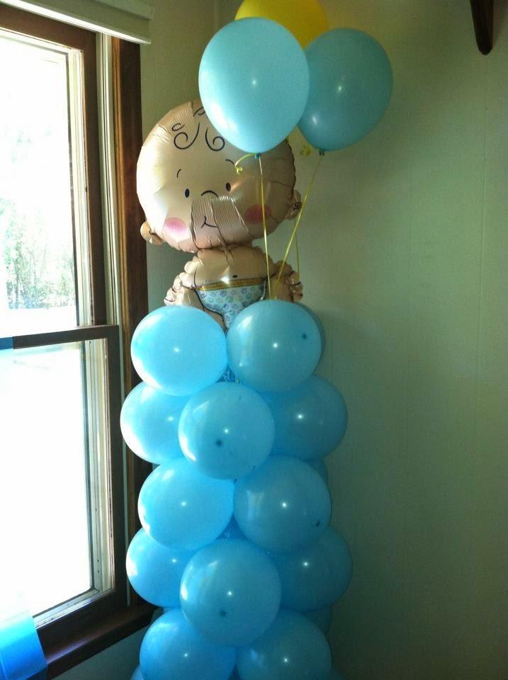 Columnas de Globos Para Baby Shower, parte 3