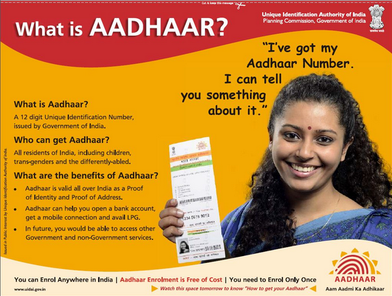 Aadhar Card ko Kaise Apply Karen