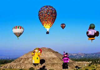 wisata udara balon terbang