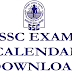 SSC 2014 Examination Dates - MTS CHSL CGL Calendar Download