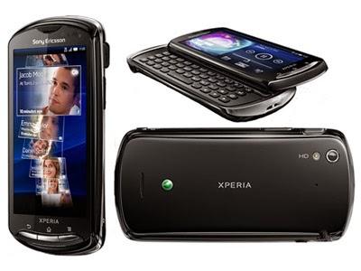 Spesifikasi Sony Ericsson Xperia Pro Terbaru