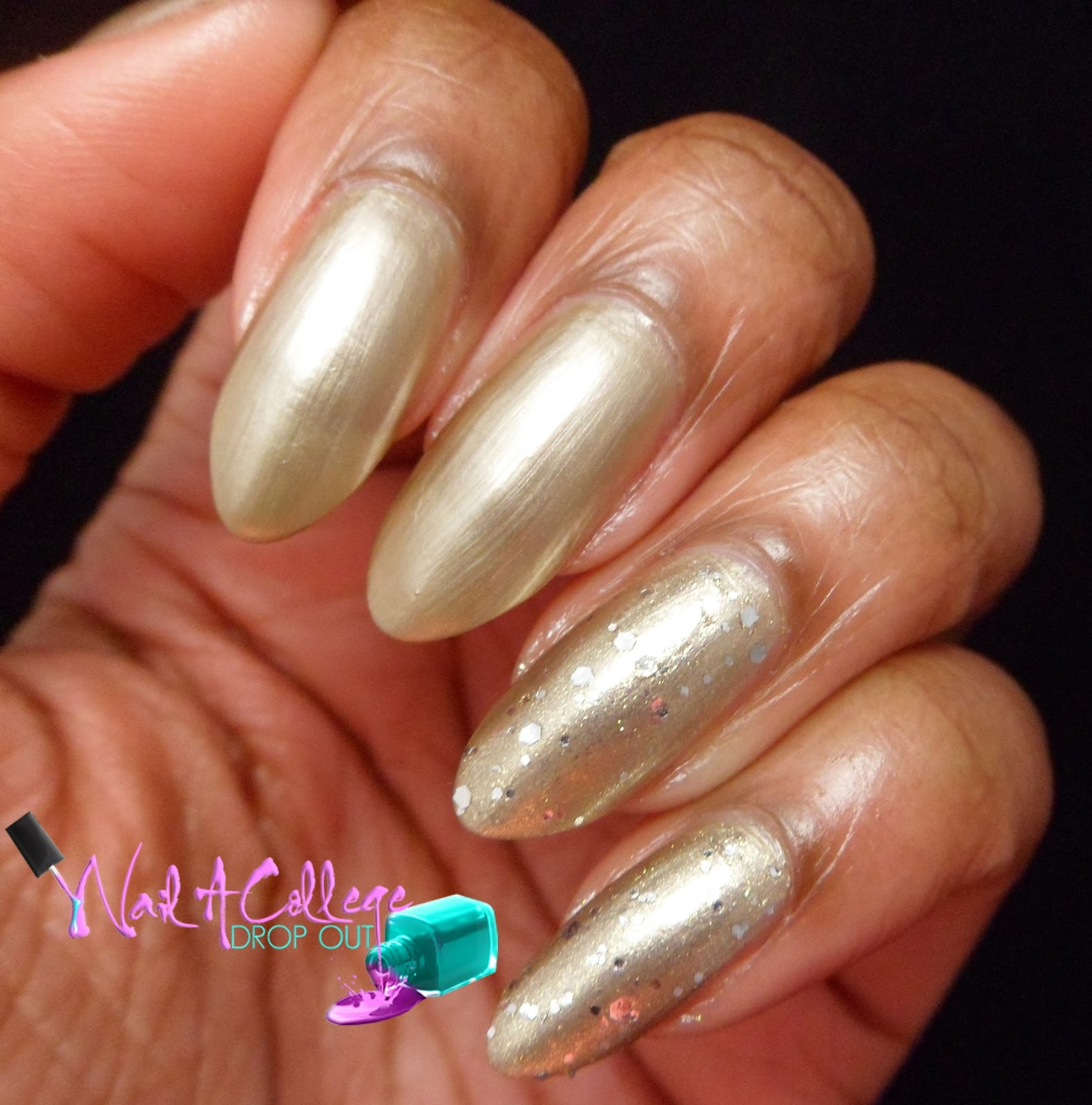 Nail A College Drop Out: Pure Ice New Year New Hue (Partial) Swatch ...