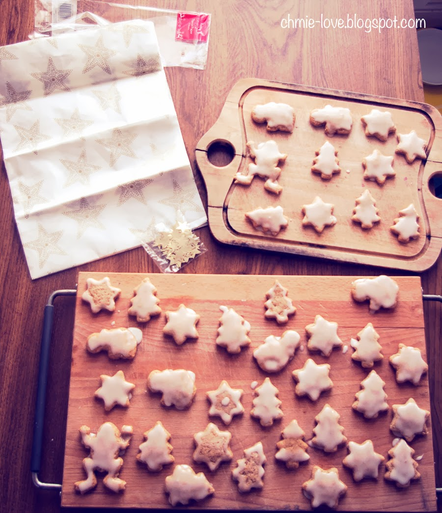 gingerbread, pierniczki lukrowane