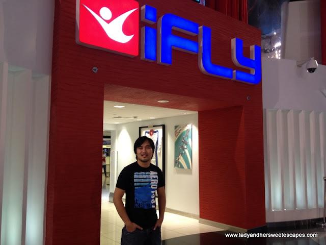Ed at IFly DUbai