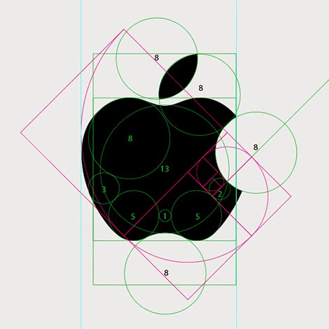 Apple logo breakup