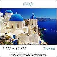 Wyzwanie Tematycznie - Podróże: Grecja
