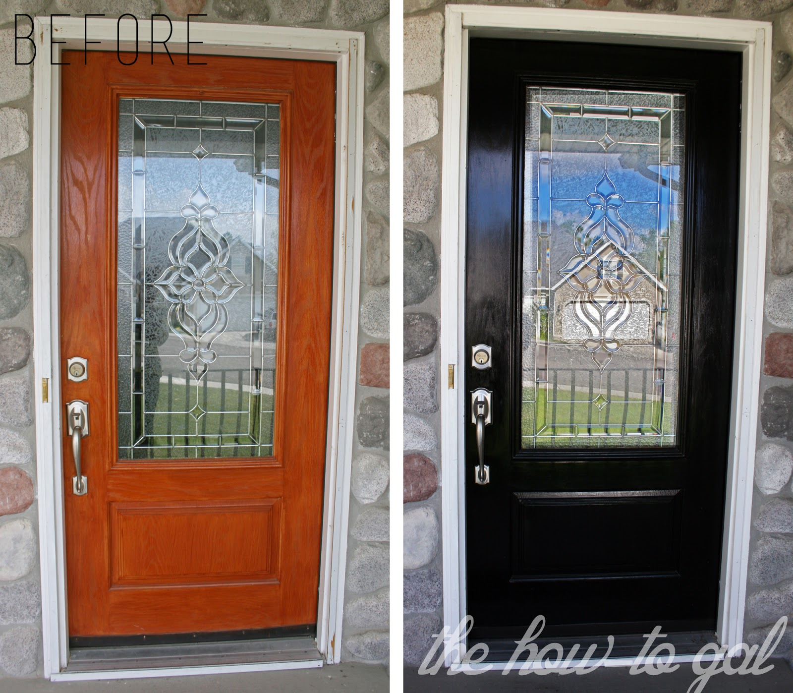 How To Paint A Front Door the how-to gal: how-to paint your front door with 3m diy