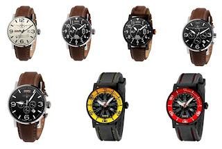 relojes  Relojes Aviador Coleccion Escarapelas del Mundo