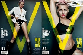 The singer is the newest cover girl for V magazine