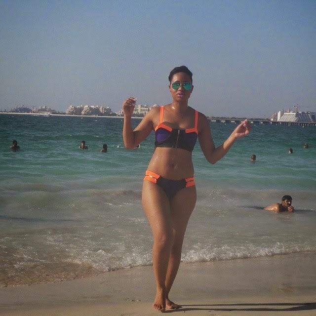 Pokello Nare Flaunts Her Sexy Body