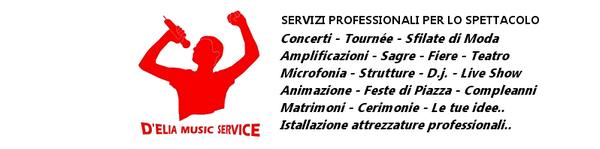 DISCOTECA VOLANTE SERVICE MUSIC D'ELIA