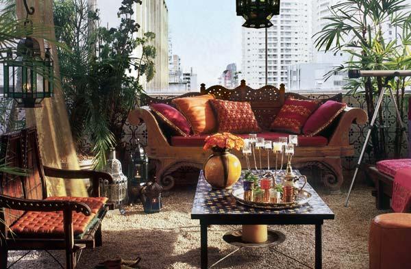 decoracao de interiores estilo marroquino : decoracao de interiores estilo marroquino:Casa de Marina: Decoração marroquina