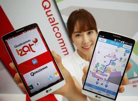 LG G3 ponsel pertama didunia yang menggunakan fitur Izat Location Indoor Qualcomm