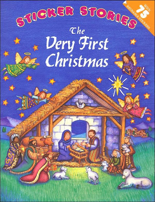 The Very First Christmas sticker book