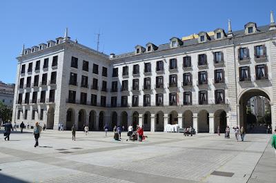 Plaça porticada de Santander