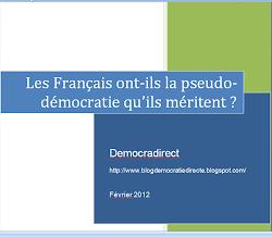 Les Français ont-ils la pseudo-démocratie qu'ils méritent?
