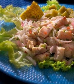 utilisima ceviche de pescado