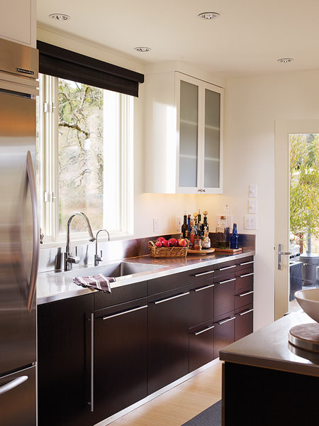 New Home Interior Design Galley Kitchen