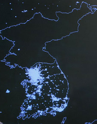 Aerial Photograph of North Korea, Kim Jong-il