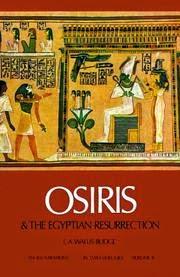 كتاب أوزيريس وعقيدة البعث المصرية واليس بدج