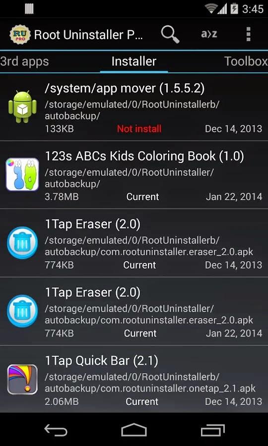 Root Uninstaller Pro v8.0