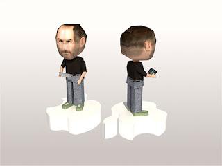 Steve Jobs Papercraft free Download