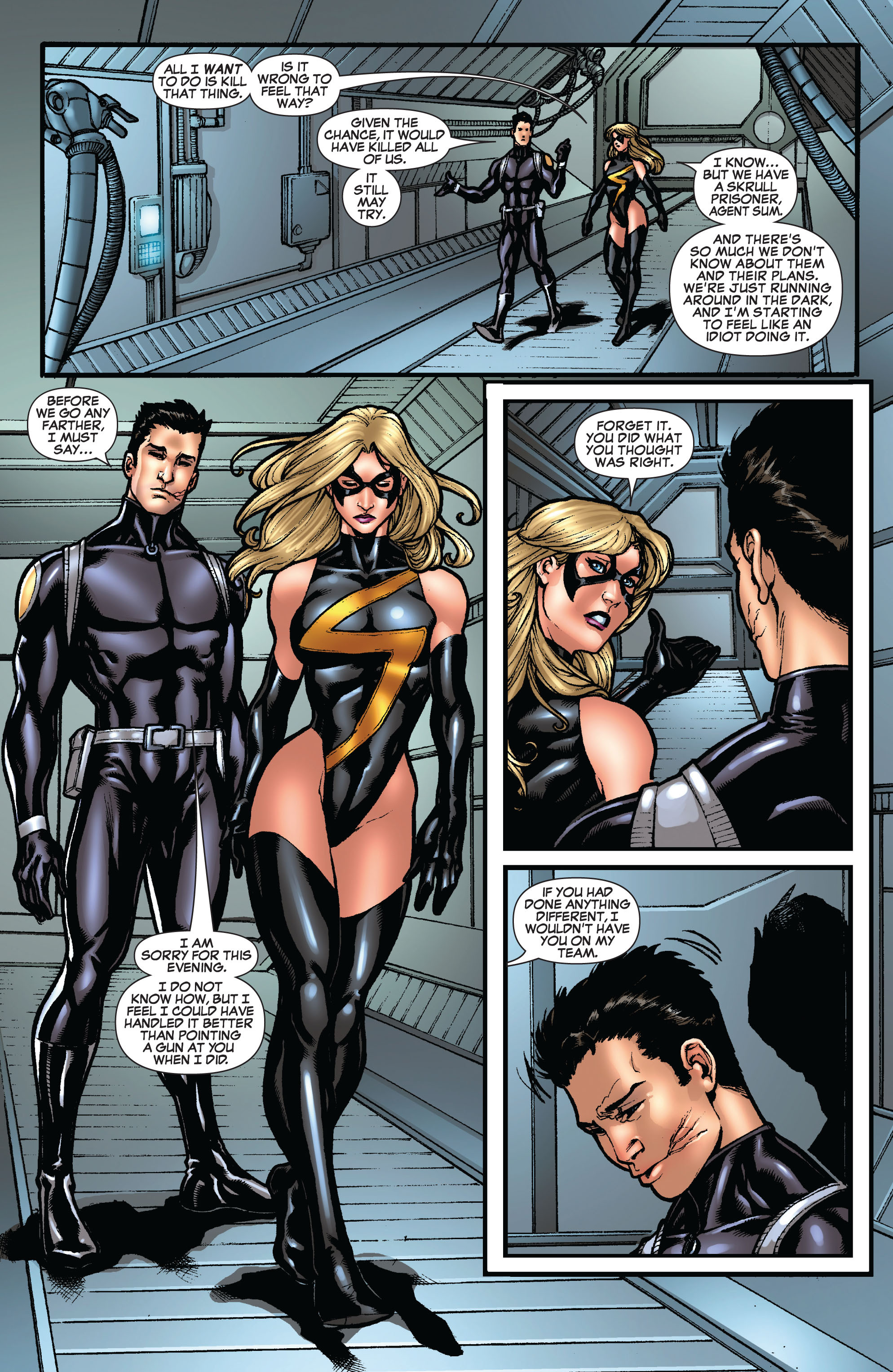 Read online Secret Invasion: The Infiltration comic -  Issue #10 - 5