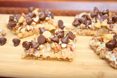 Burn Me Not: Salted Toffee-Chocolate Squares