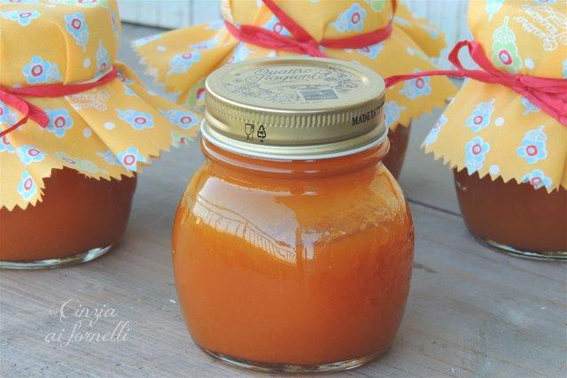 confettura mele albicocche ricetta bimby