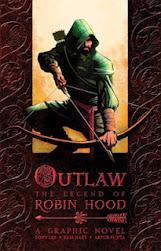 """Capa do livro """"Robin Hood em quadrinhos"""""""