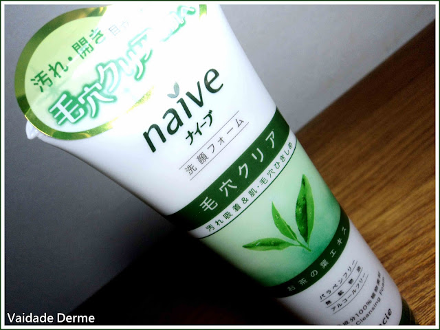 Naive Deep Cleansing Foam Green Tea da Kracie