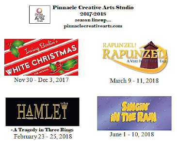 THIS MONTH'S SITE SPONSOR:Pinnacle Creative Arts Presents