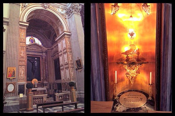 Stopa świętej Marii Magdaleny w Rzymie