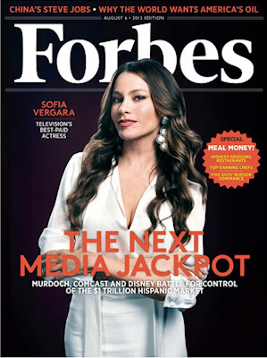 Sofia Vergara is top paid TV actress on Forbes List