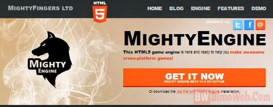 MightyEngine HTML5 Game Framework