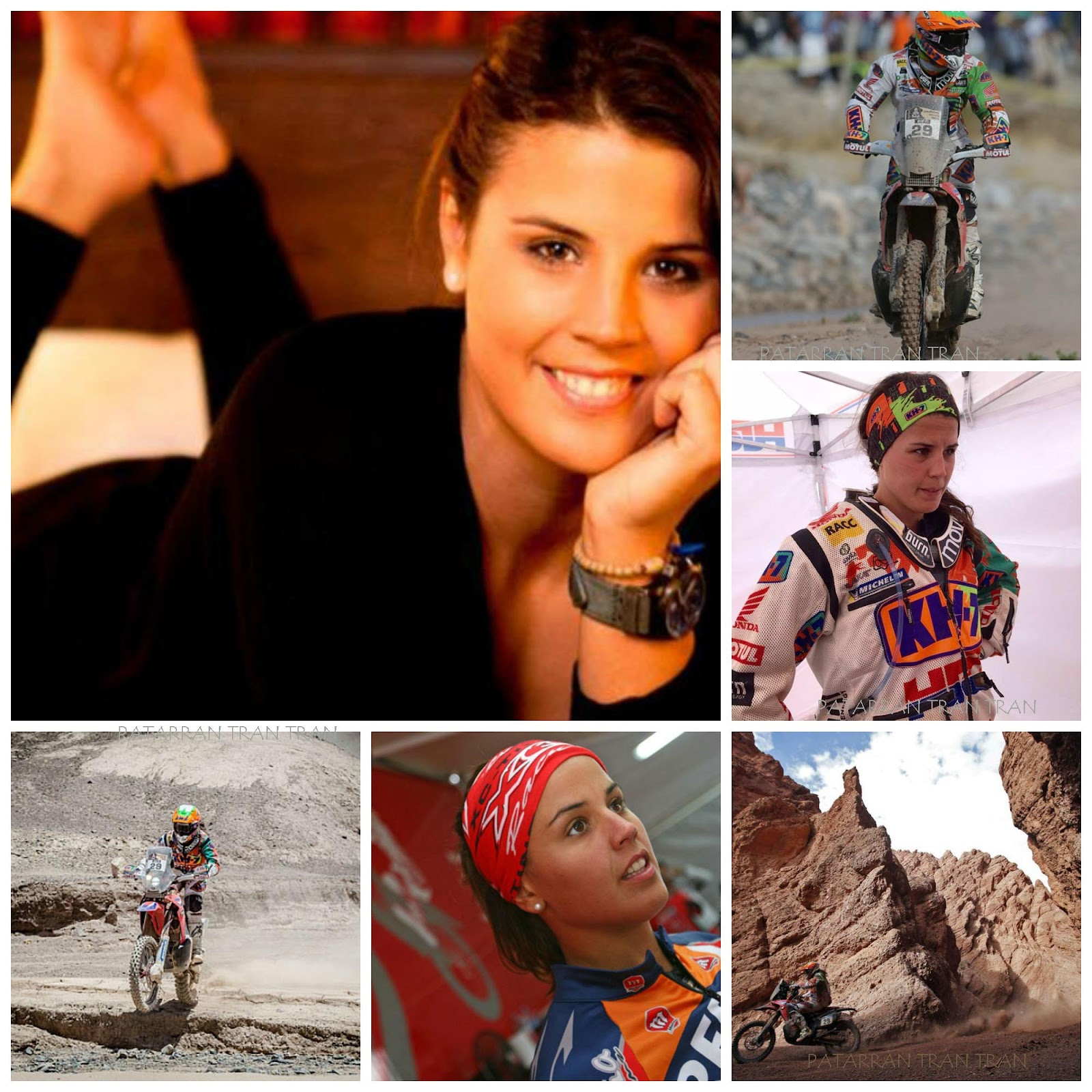 Laia Sanz. The Iron Lady. Novena en el Dakar 2015.