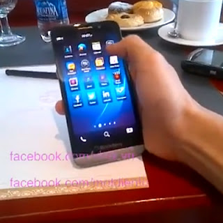 Video BlackBerry A10