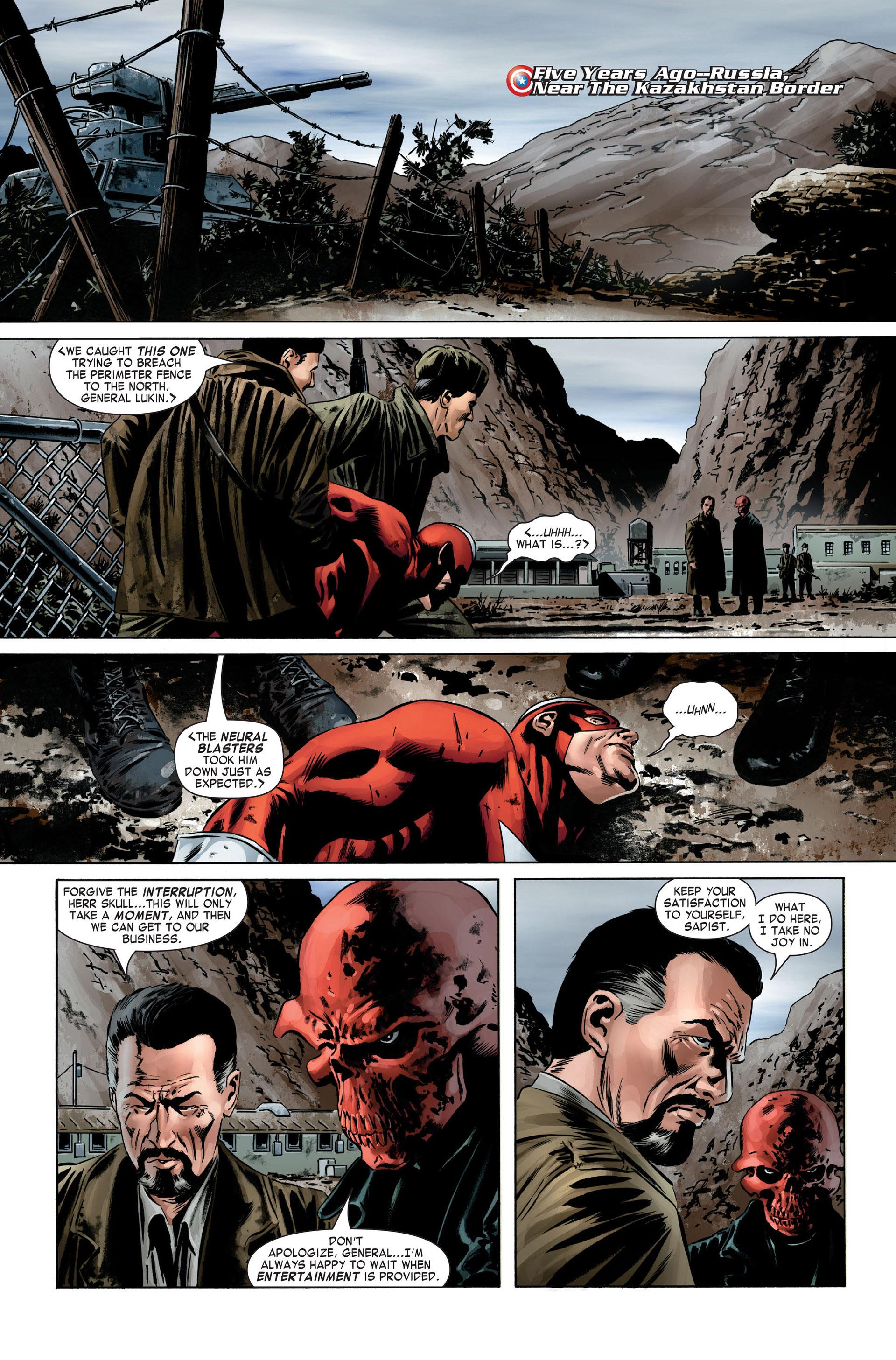 Captain America (2005) Issue #1 #1 - English 2