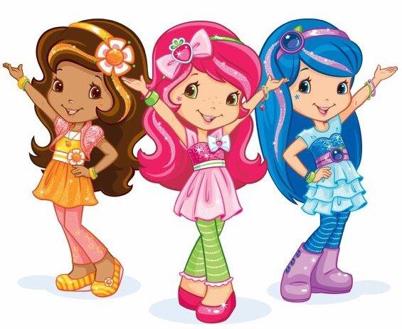 Rosita fresita dibujos animados sus amigas - Imagui