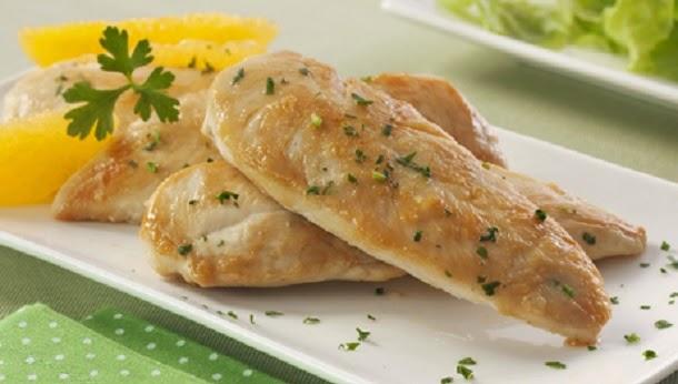 Receita de Peito de frango no microondas