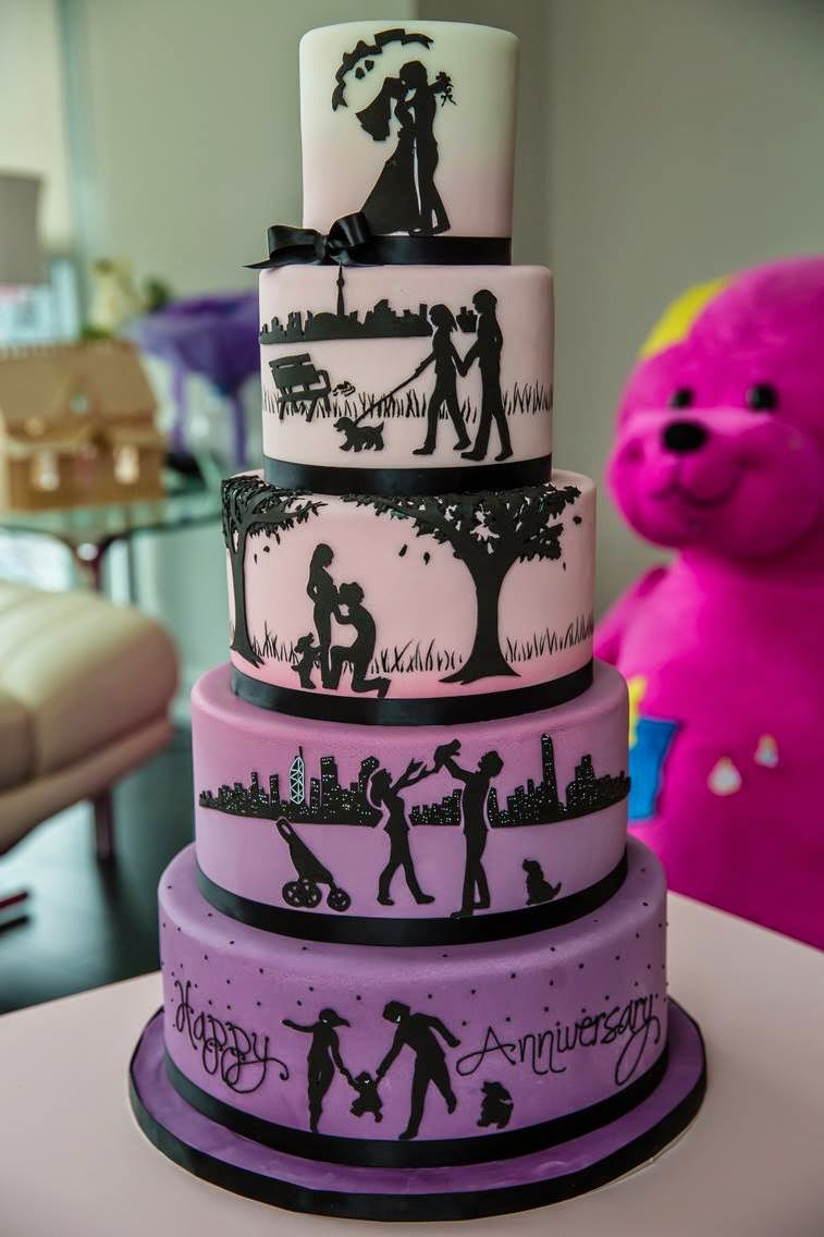 Here Are Two Examples One For A Wedding And An Anniversary The Question Is Do You Read It From Top To Bottom Or Vice Versa