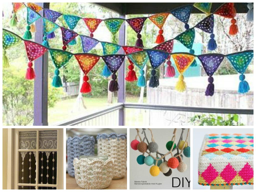 Deco vintage b sicos en pocas palabras for Decoracion del hogar con crochet