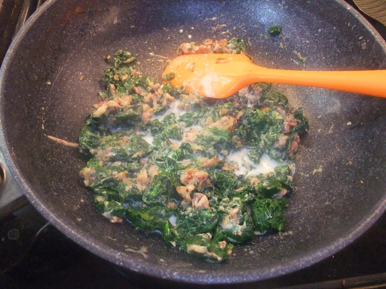 Susan's Savour-It!: Creamed Spinach with Bacon...