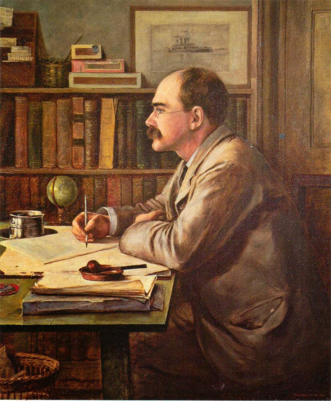 Rudyard Kipling by Sir Philip Burne-Jones