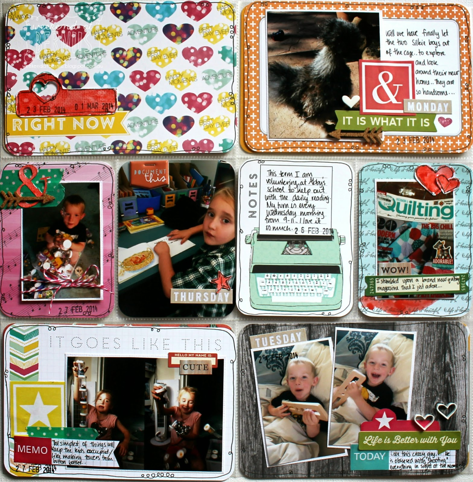 Project Life spread by Bernii Miller