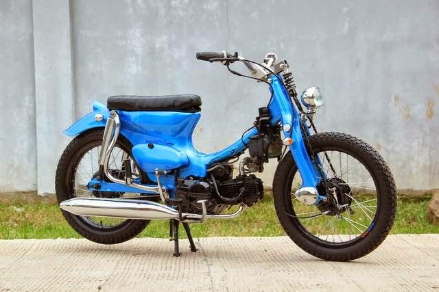 kumpulan modifikasi motor honda 70