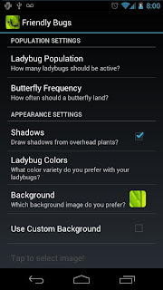 download Friendly Bugs Live Wallpaper app